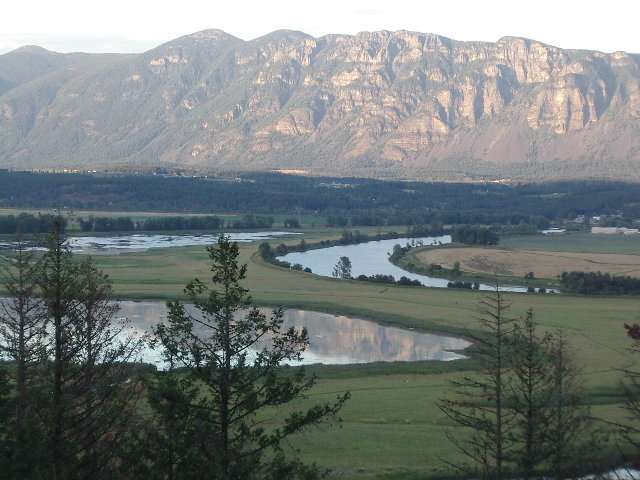 Kootenai River from Boundary Connections Idaho