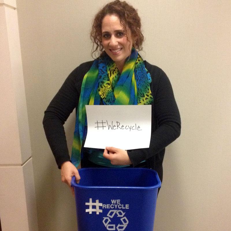 EPA Employee Shereen Recycles