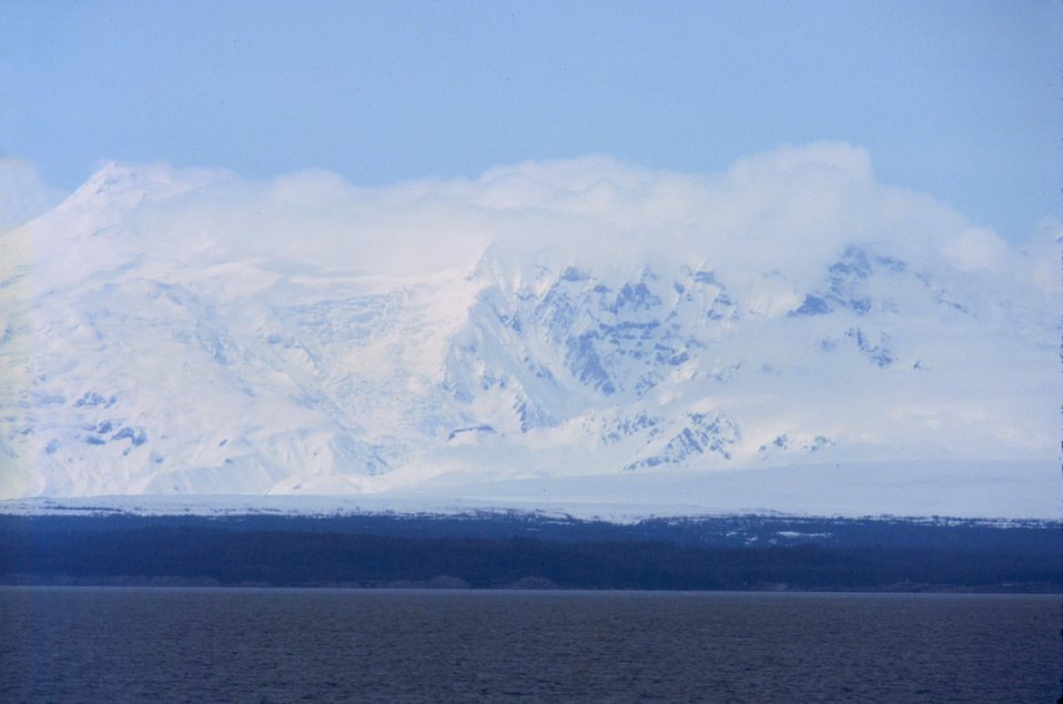 Upper Cook Inlet looking west.