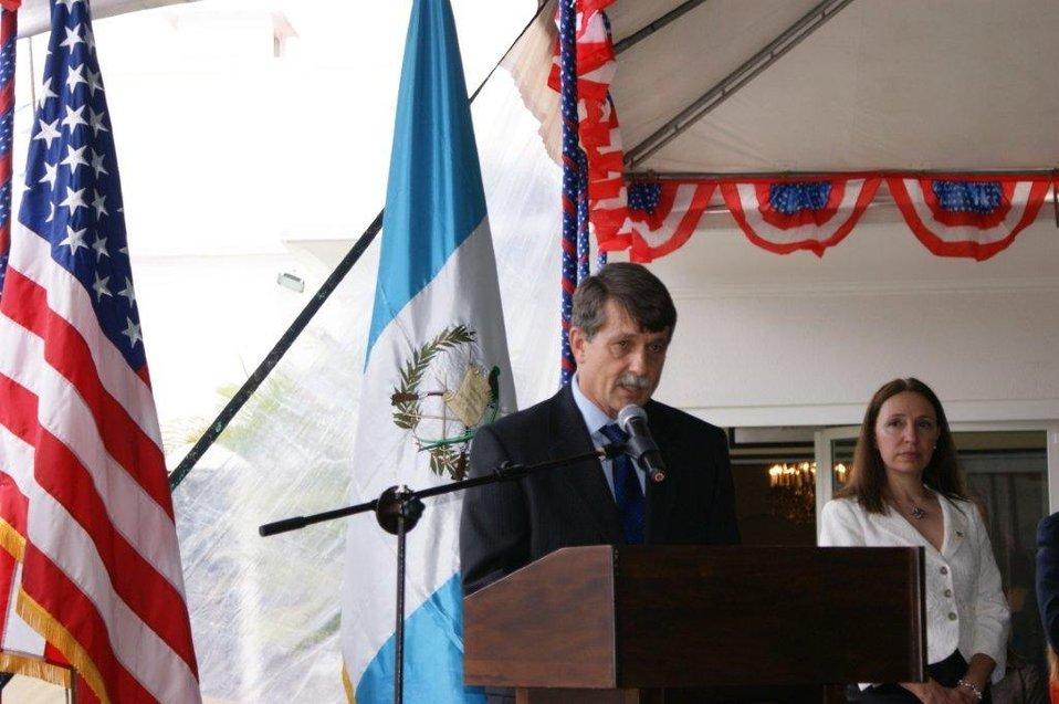July 4th Celebration at U.S. Embassy in Guatemala