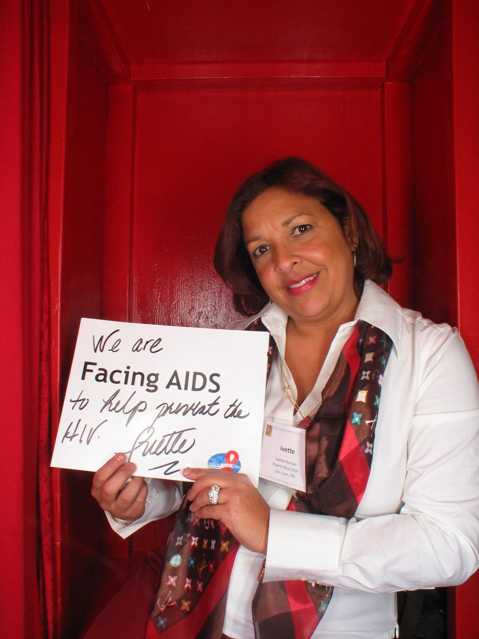 We are Facing AIDS to help...