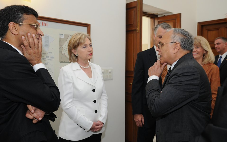 Secretary Clinton Speaks at University of Delhi