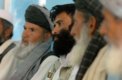 Afghan Elders Listen