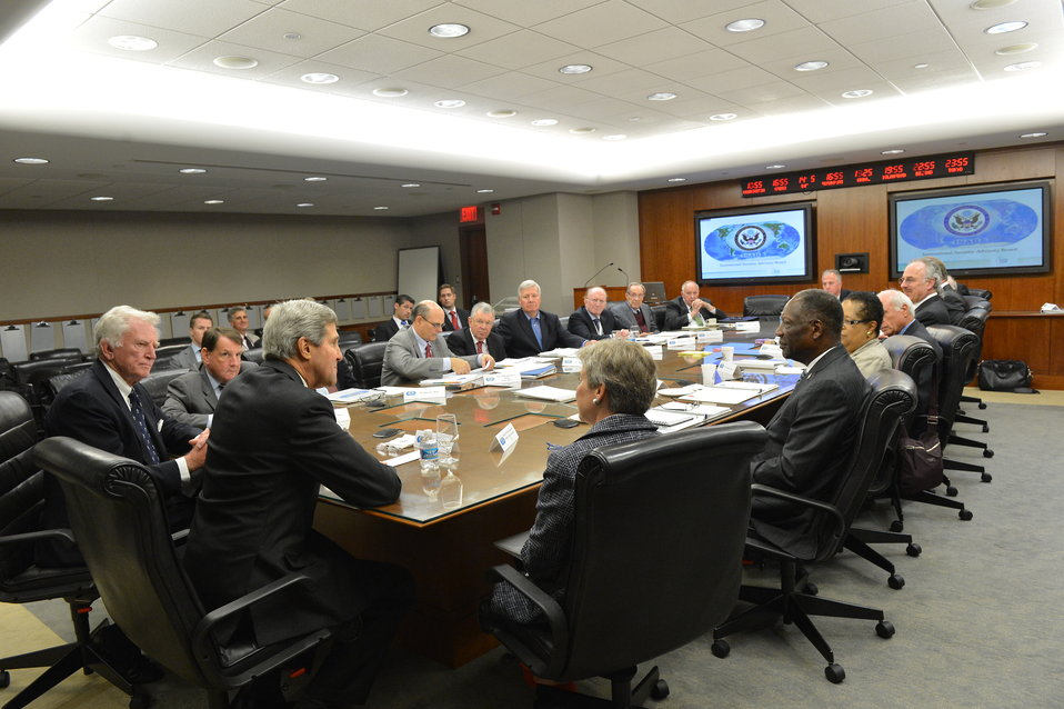 Secretary Kerry Delivers Remarks to the International Security Advisory Board
