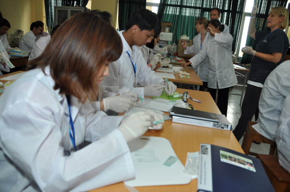 USAID EPT Smithsonian Pathology Training to Detect Emerging Infectious Diseases Wildlife and Other Animals in Vietnam Workshop