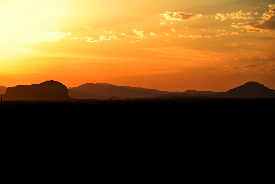 Desert sunrise 601