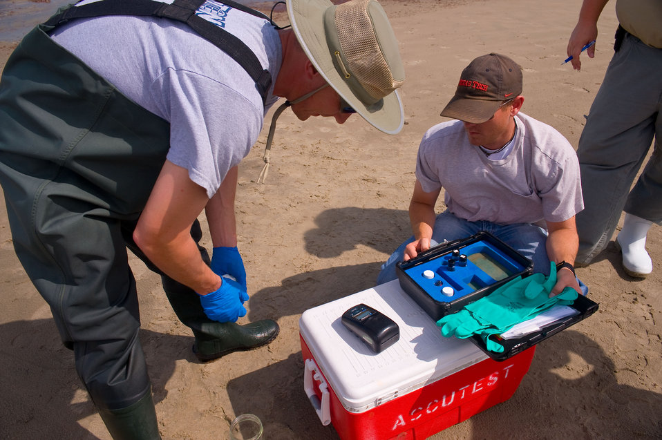June 4, Analyzing water quality right at the source