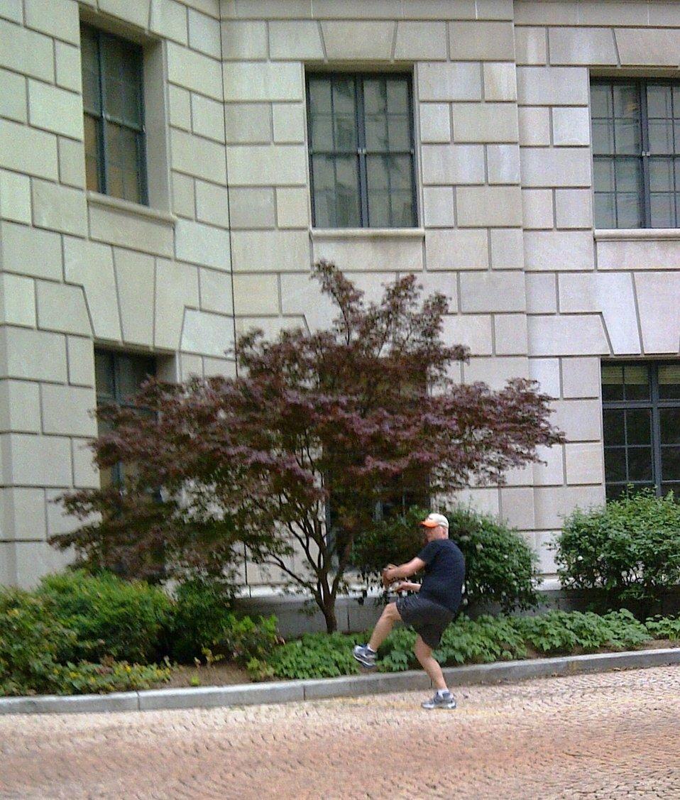 April 19, 2013 - Courtyard Practice for EPA Acting Administrator Bob Perciasepe