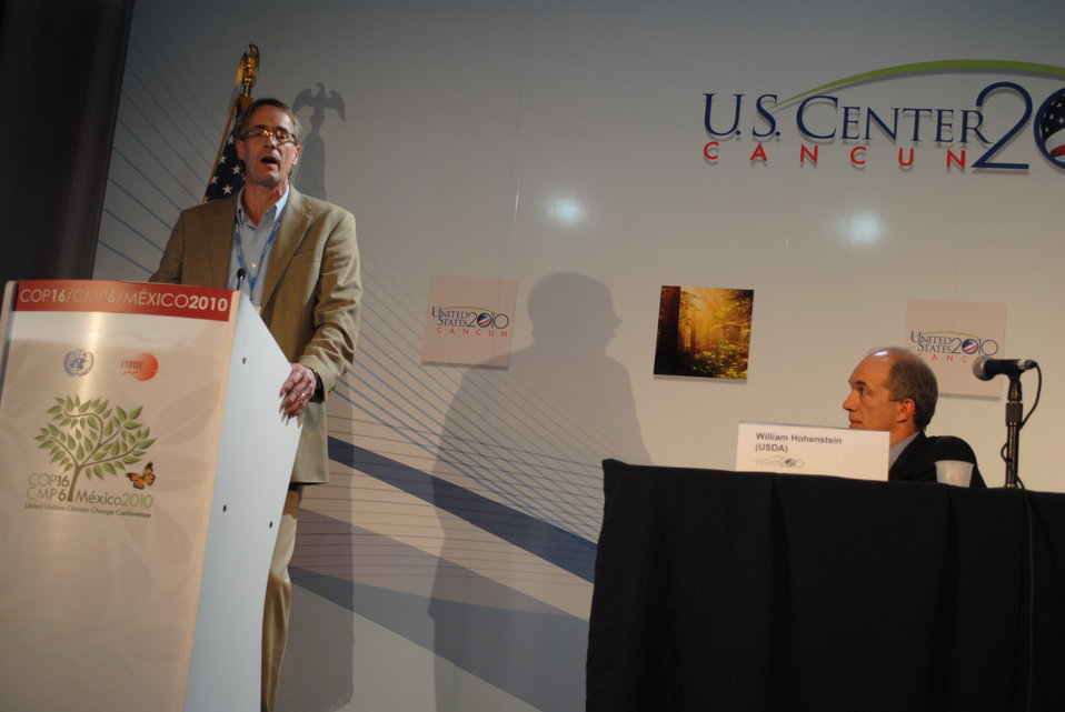 Dr. Paustian Addresses the U.S. Center