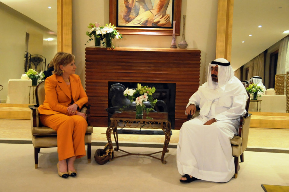 Secretary Clinton Meets With Kuwaiti Deputy Premeir