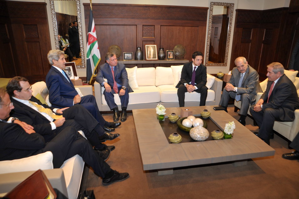 U.S. Delegation Meets with Jordanian Delegation