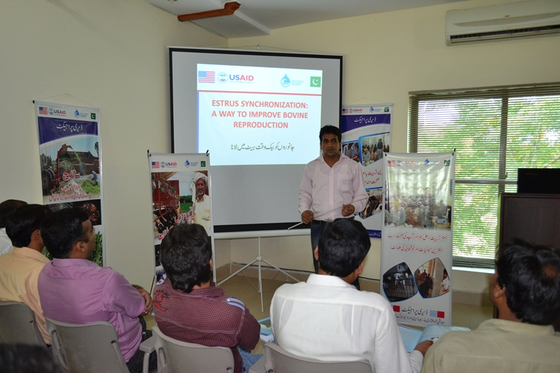 2 - First batch of Dairy Project farm manager trainees attending Farm Managers Training by USAId Dairy Project