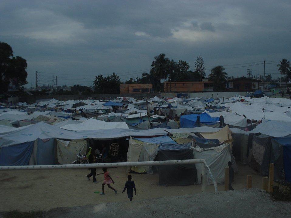 Tent City (Haiti Earthquake - 2010)