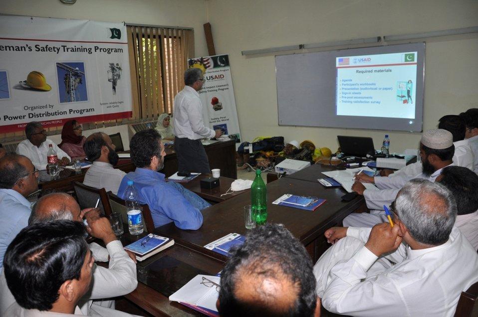 Quick Impact Safety Training Program at Wapda Staff College