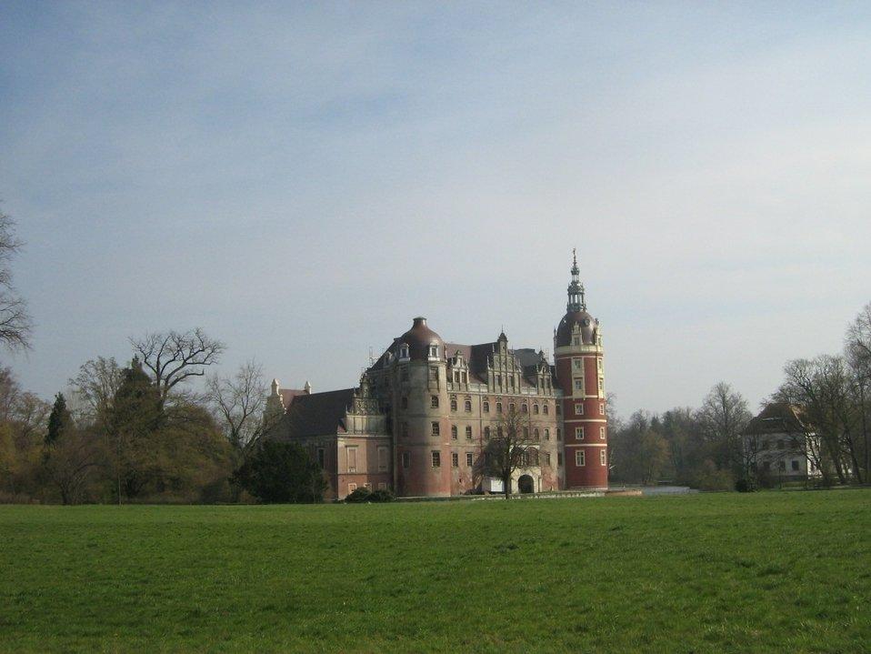 Deutsch:  Das Neue Schloss Muskau in Bad Muskau, Sachsen. The New Palace Muskau (Bad Muskau, Saxony, Germany).