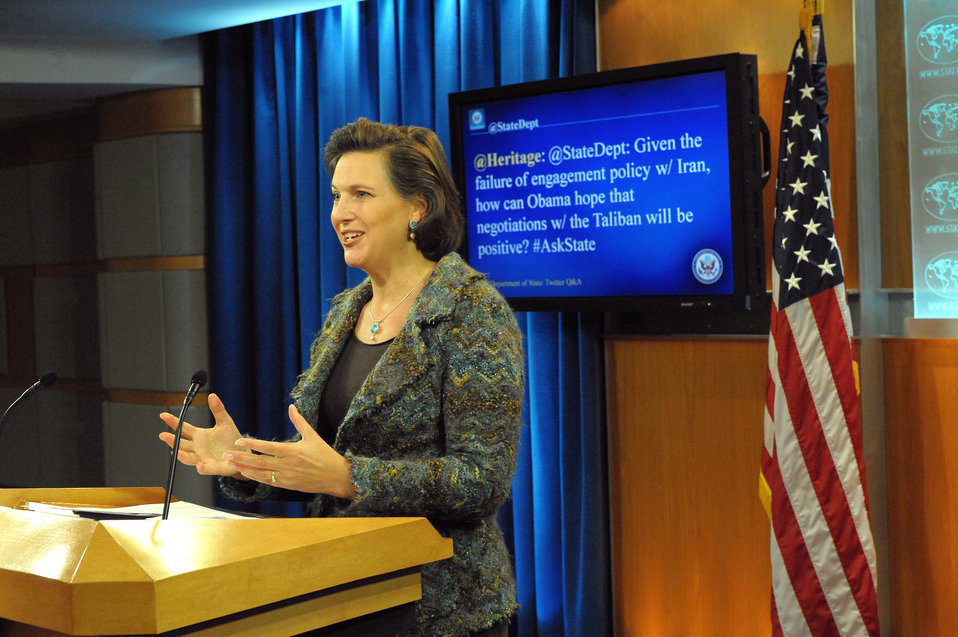 Spokesperson Nuland Responds to a Question from @StateDept