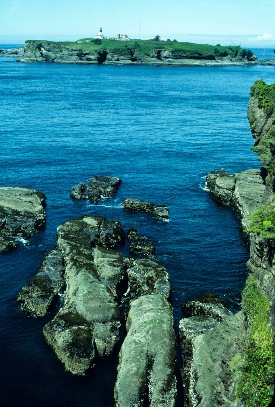 Tatoosh Island Lighthouse.