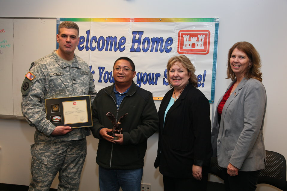 Sacramento District welcomes home Afghanistan volunteers