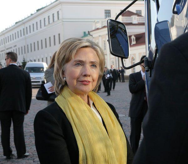 Secretary Clinton in Tatarstan