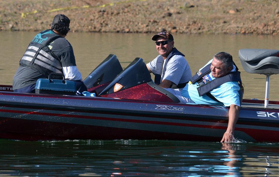 Take a Warrior Fishing 2014 at Pine Flat Lake