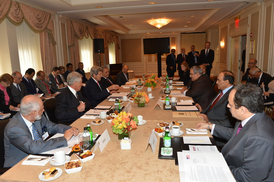 Secretary Kerry Participates in the Gulf Cooperation Council Strategic Cooperation Forum