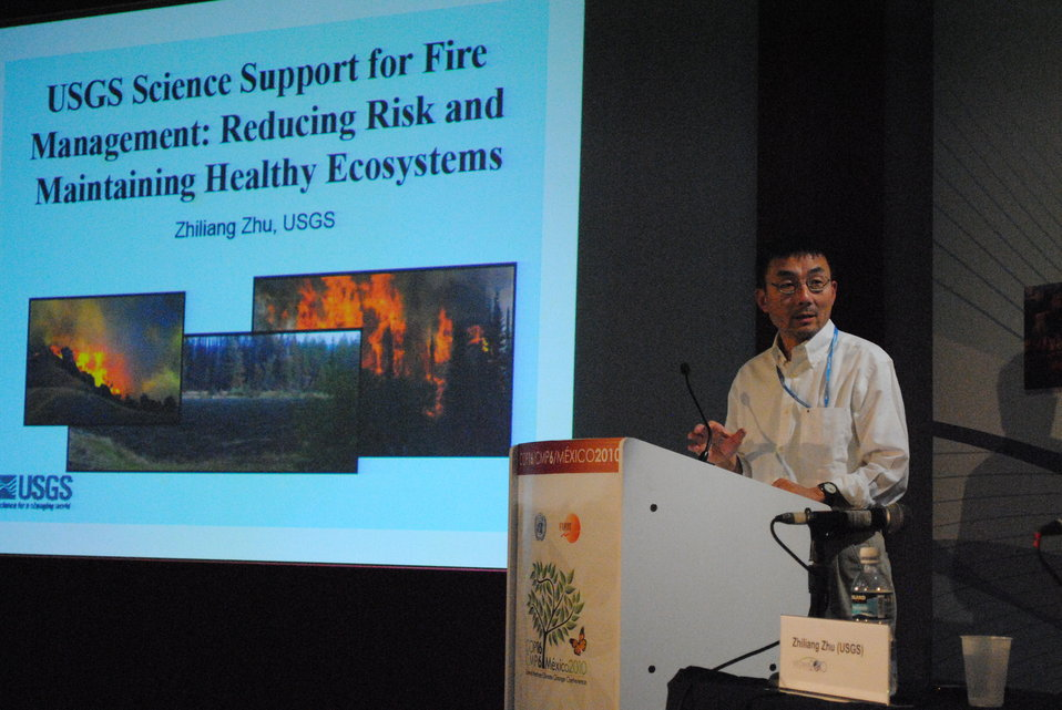 Zhiliang Zhu of USGS Explains the Impact of Fires