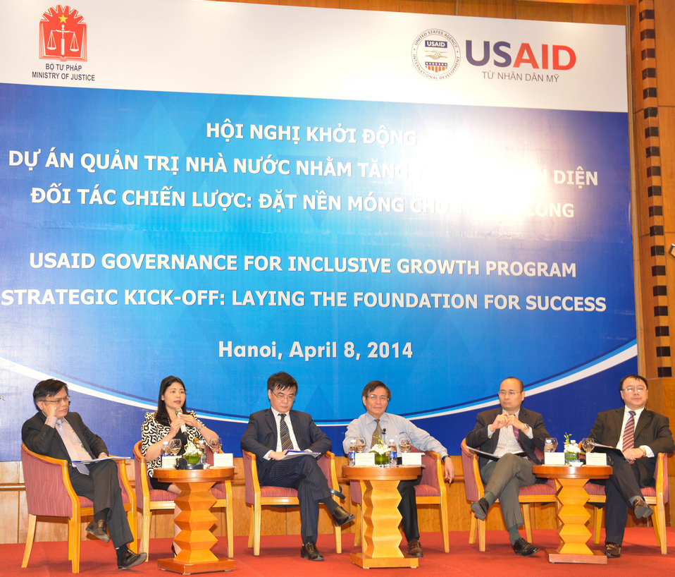 Strategic Kick-off of Governance for Inclusive Growth Program