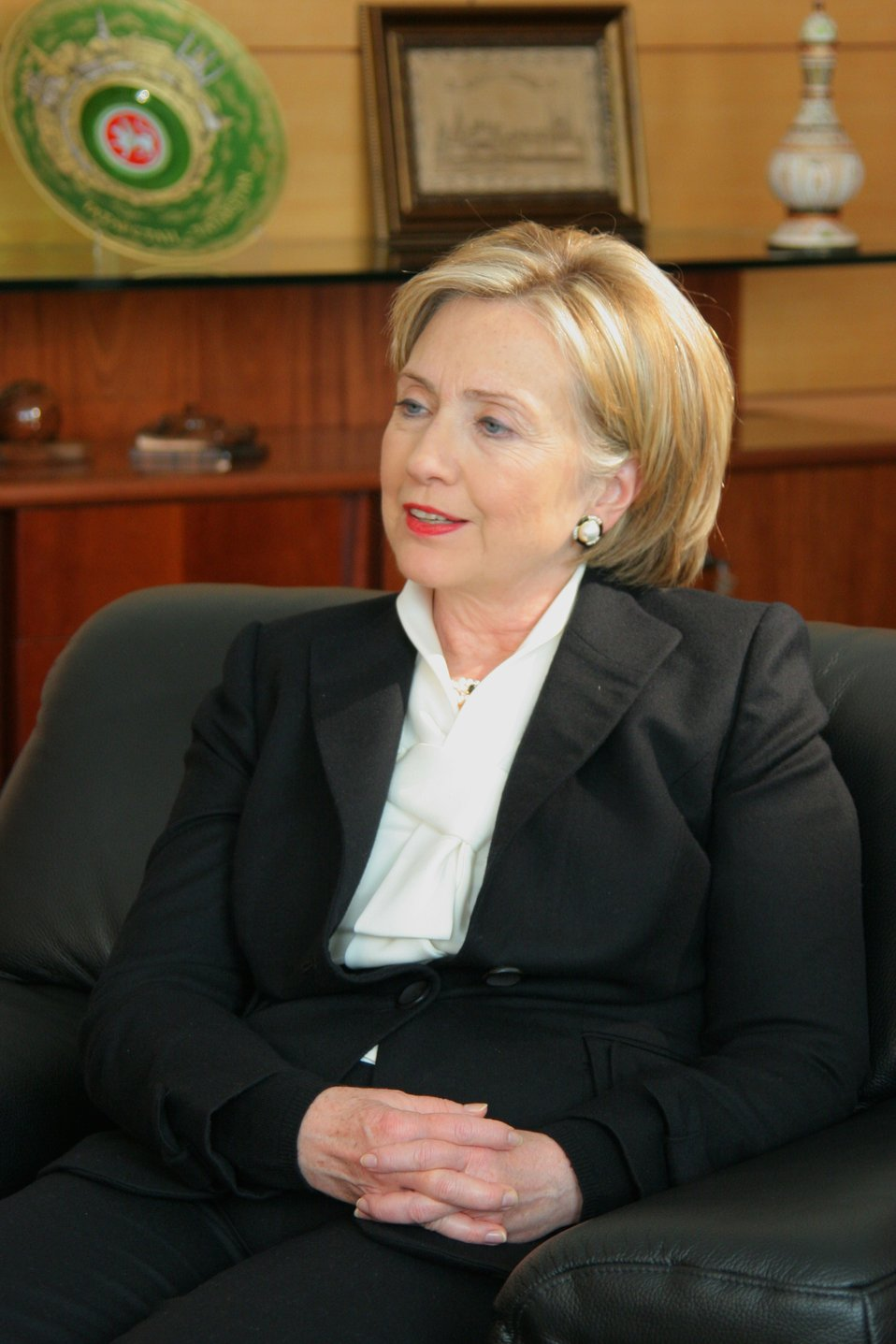 Secretary Clinton Answers Questions