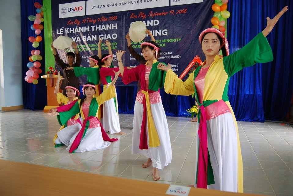 USAID supports education for ethnic minorities in rural Vietnam.