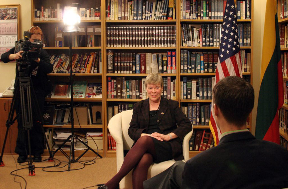 Acting Under Secretary Gottemoeller Is Interviewed By Baltic News Service' Benusius