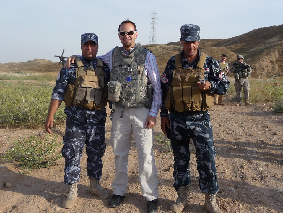 Dan Gedacht Speaks With Peshmerga Forces