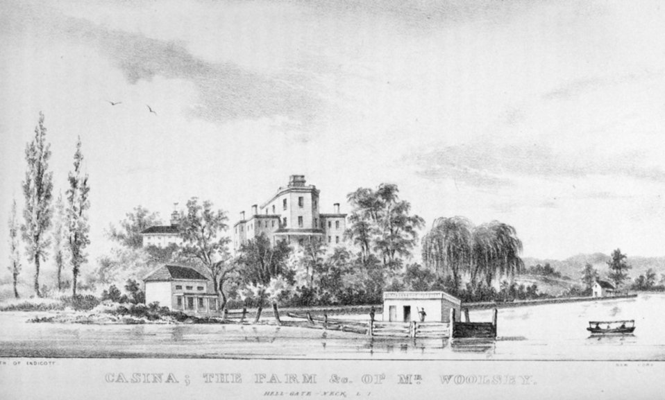 Casina; The Farm and &c. of Mr. Woolsey at Hell-Gate-Neck, Long Island.