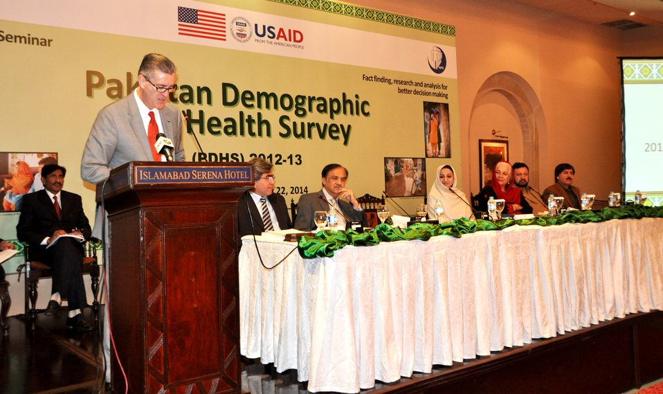 The Pakistan Demographic and Health Survey 2012-13 survey was jointly implemented by the Government of Pakistan and the United States Government through the United States Agency for International Development (USAID).
