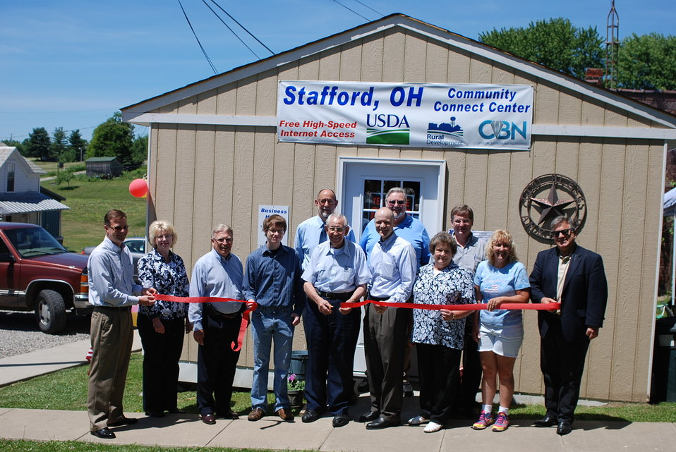 20130604 Stafford Ohio Community Connect ribbon cutting