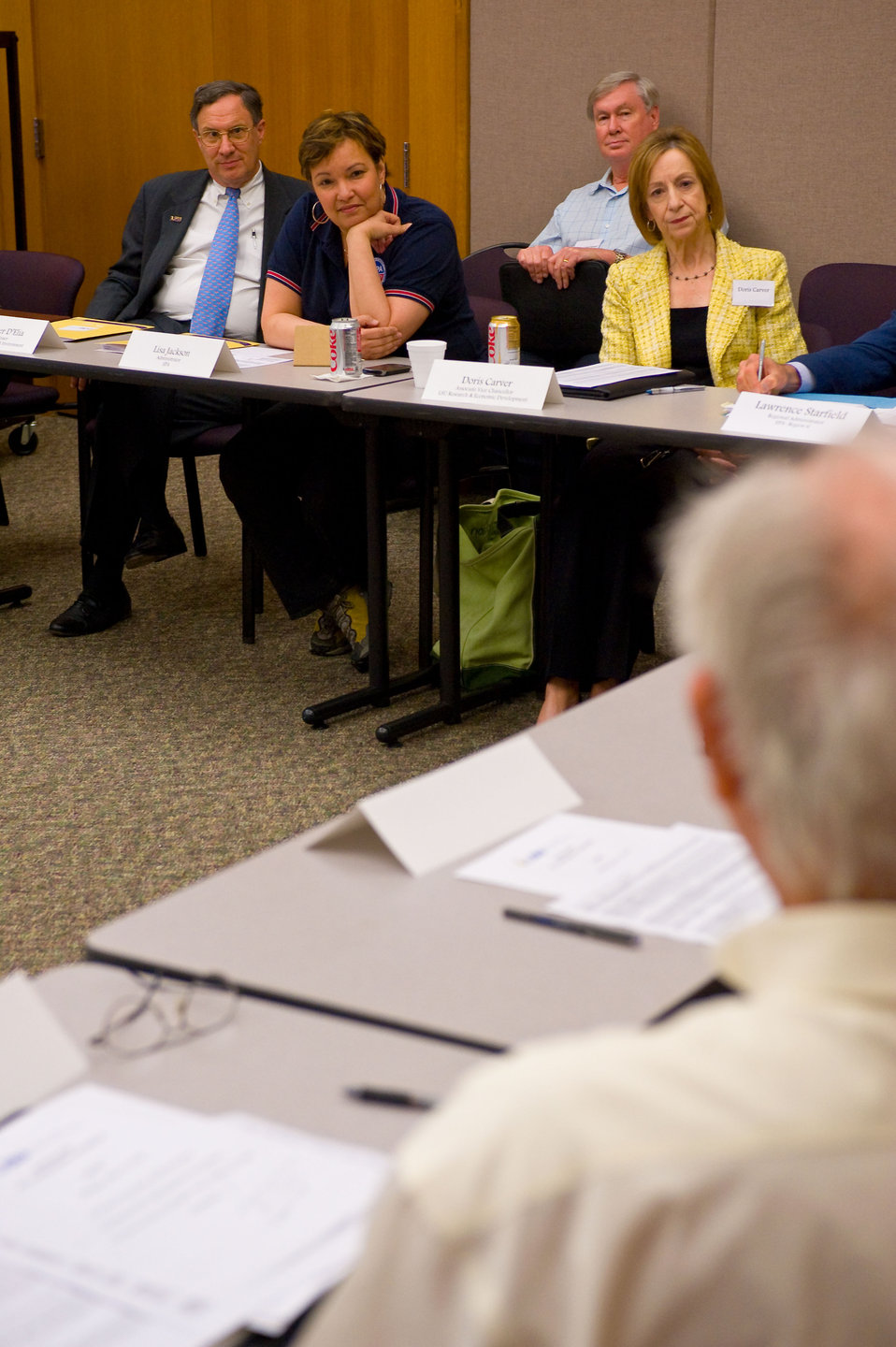 EPA Administrator Meets with Gulf Region Scientists