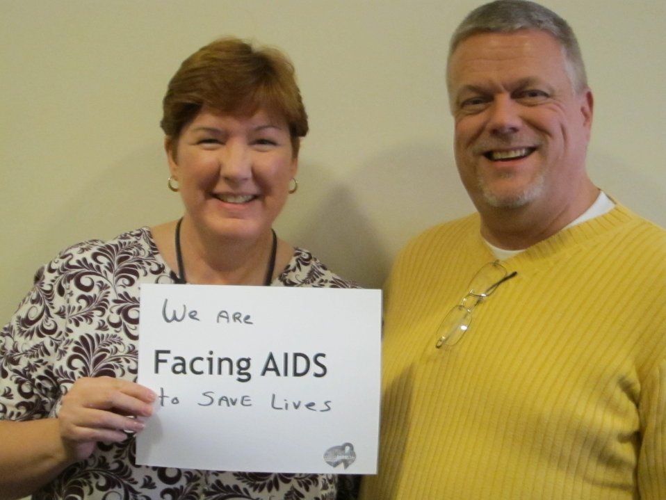 We are Facing AIDS to save lives