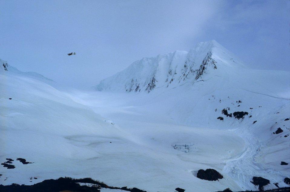 Portage Glacier area.