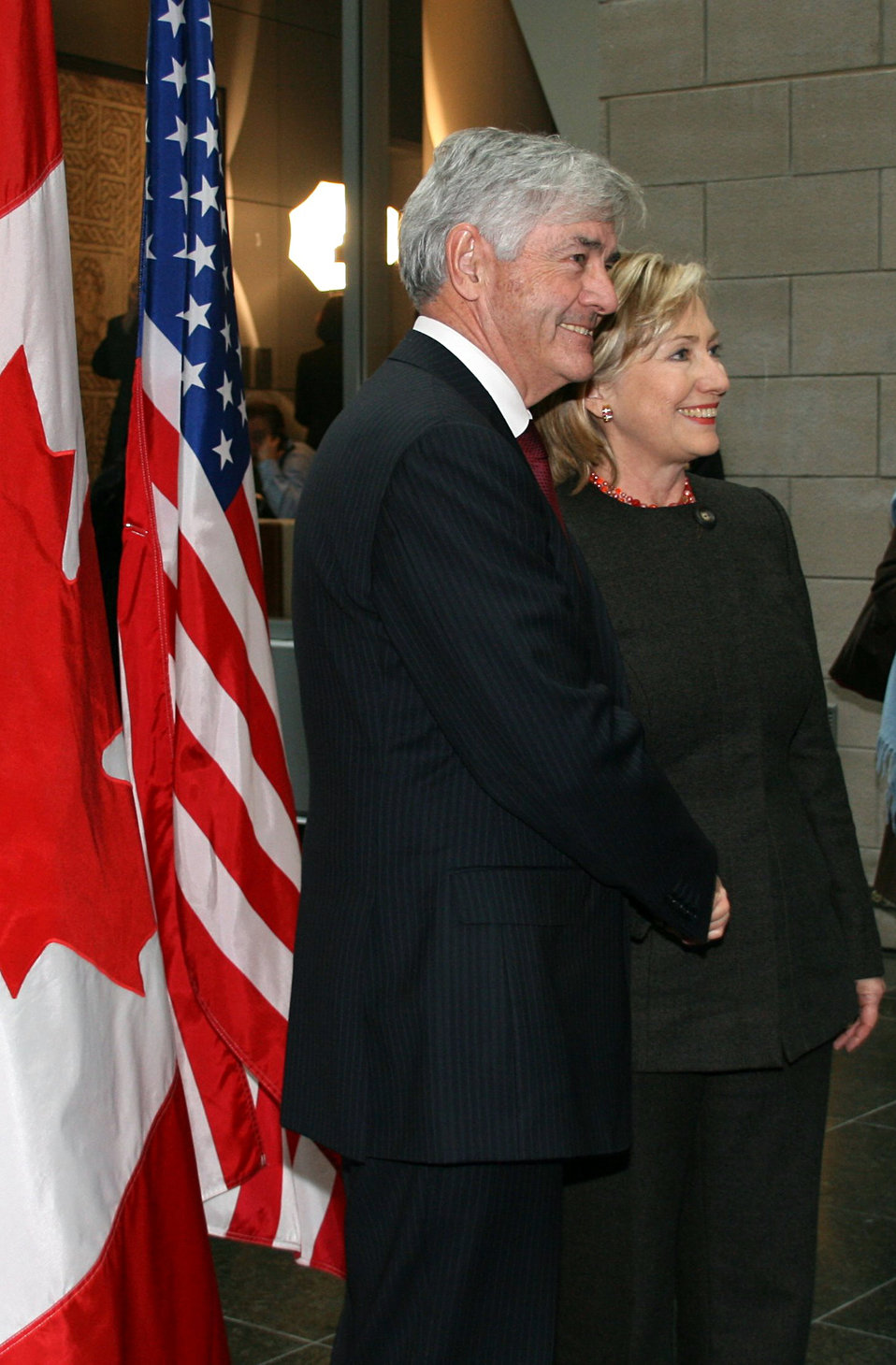 Secretary Clinton in Montreal