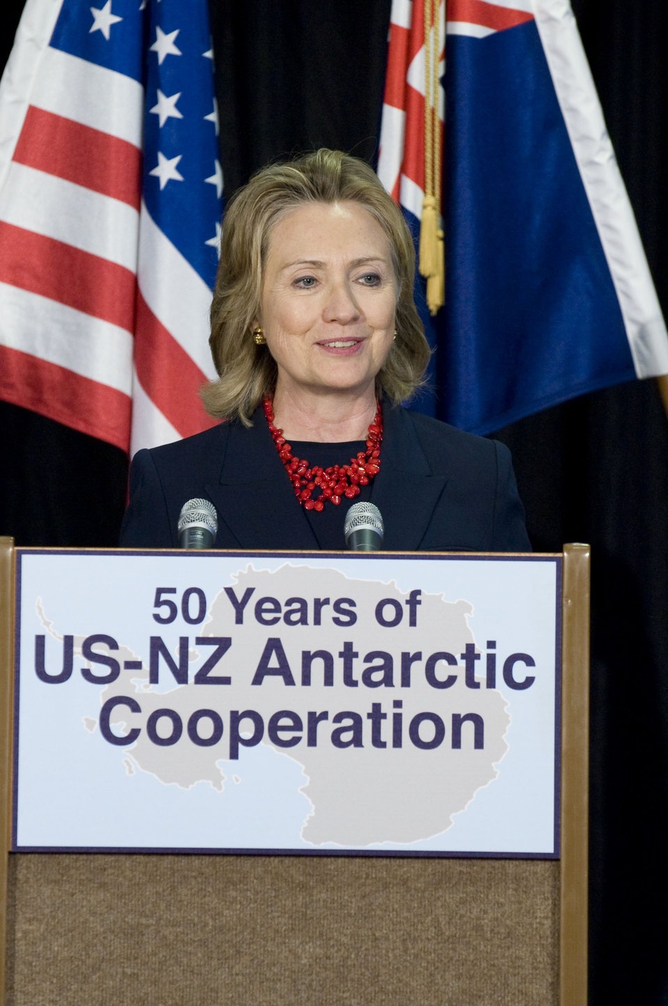 Secretary Clinton Delivers Remarks on the Antarctic Program