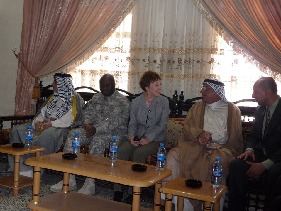 PRT Leaders Meet With Local Officials