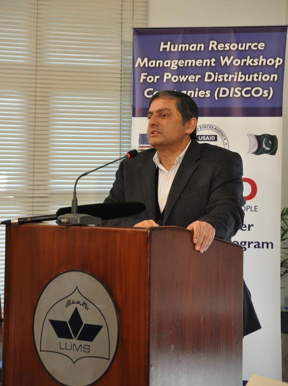 Arif Butt - Dean Business Management Studies LUMS