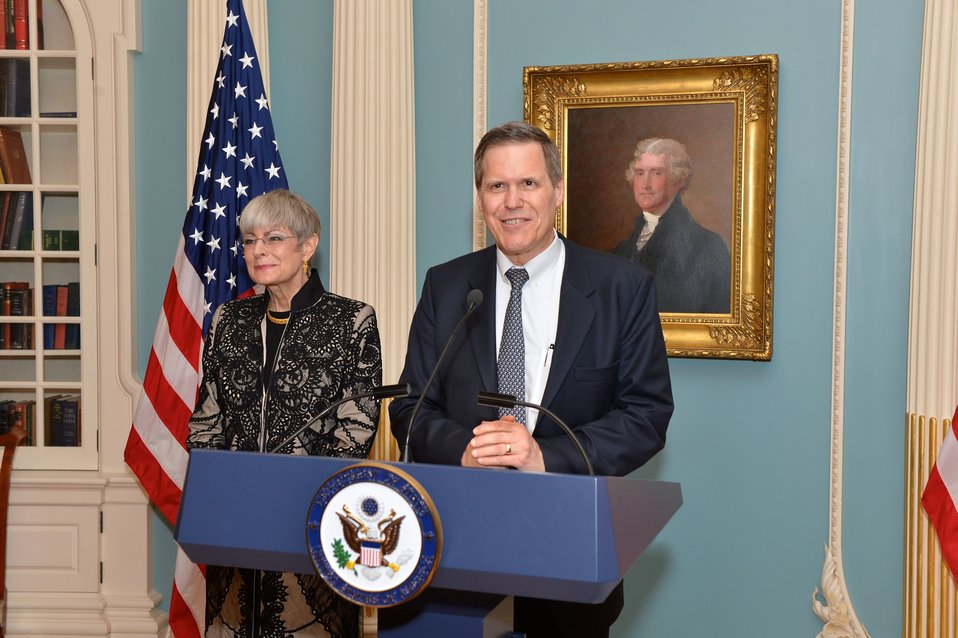 Ambassador Tueller Delivers Remarks at Swearing-in Ceremony
