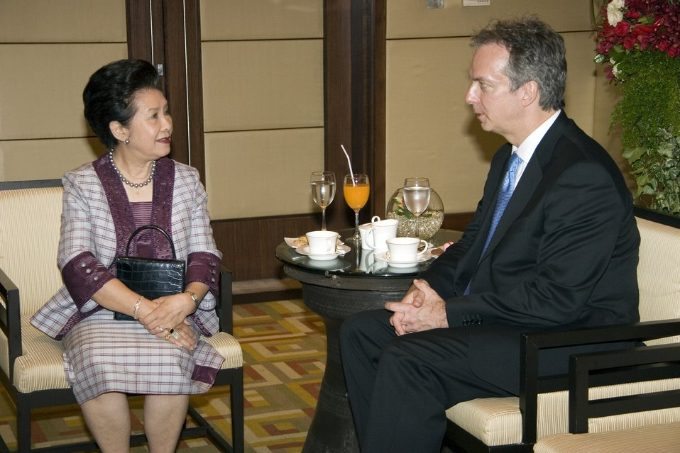 U.S. Ambassador to Thailand Meets With Thai Queen's Lady-in-Waiting