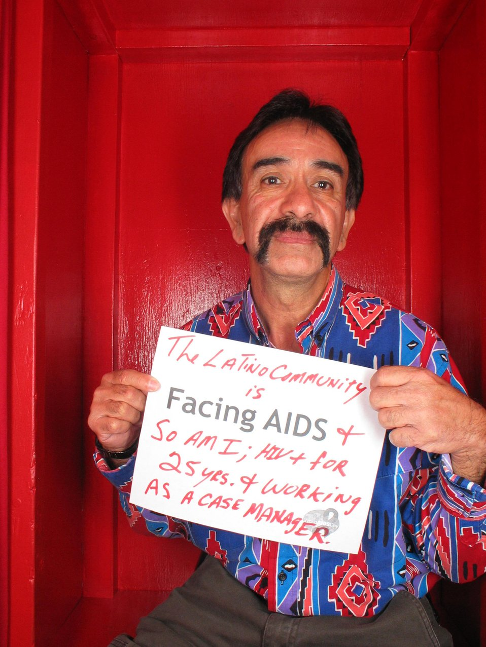 The Latino community is Facing AIDS and so am I; HIV  for 25 years and working as a case manager.