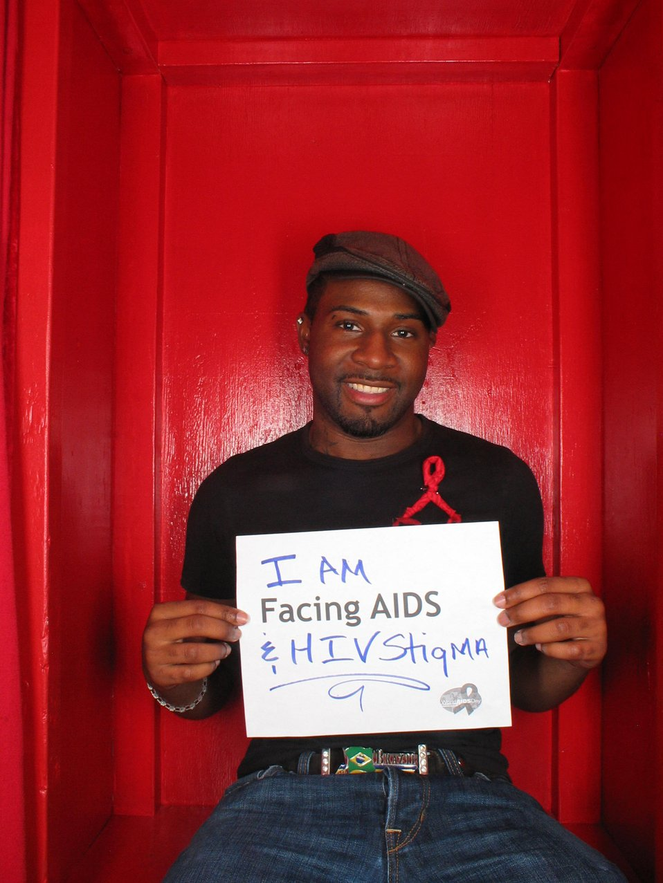 I am Facing AIDS and HIV stigma.