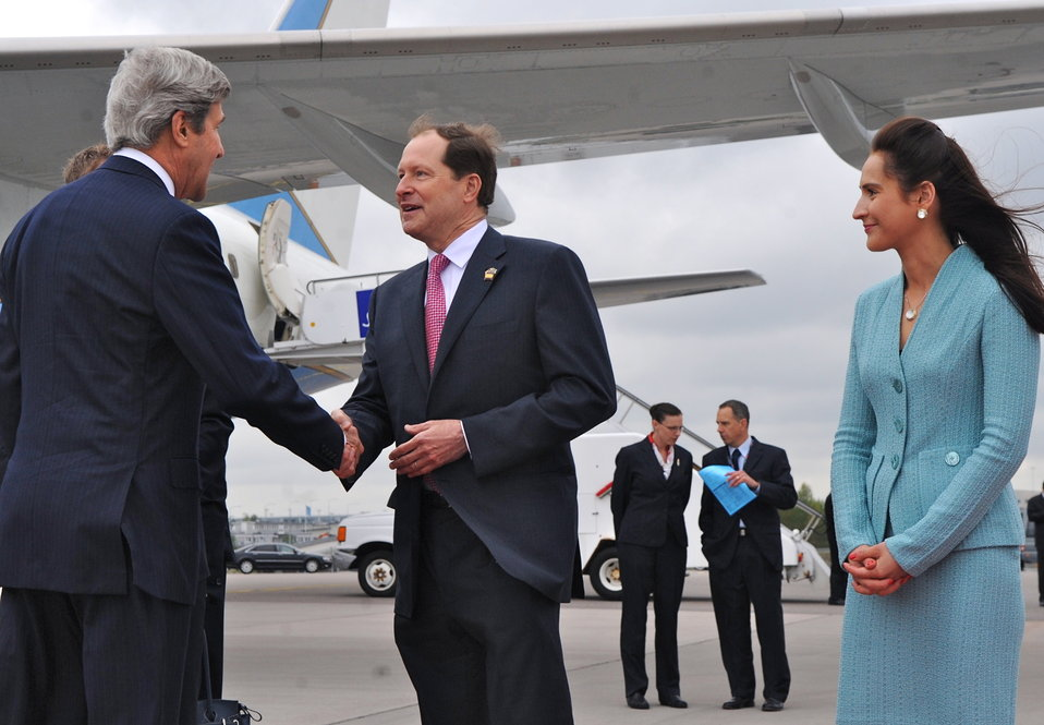 Secretary Kerry Arrives in Stockholm, Sweden