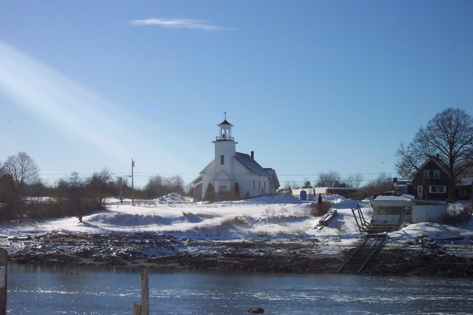 A church at South Thomaston.