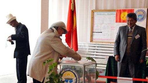 Kyrgyz Cast Their Ballots