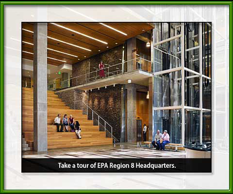 Region 8 Green Building Atrium and Tour