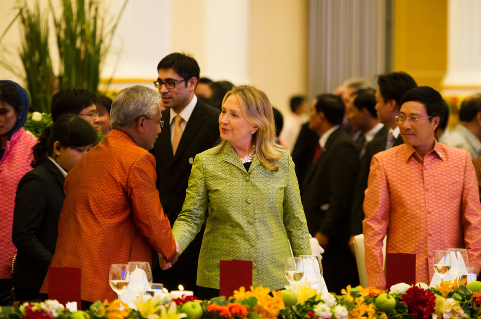 Secretary Clinton at the ASEAN Gala Dinner